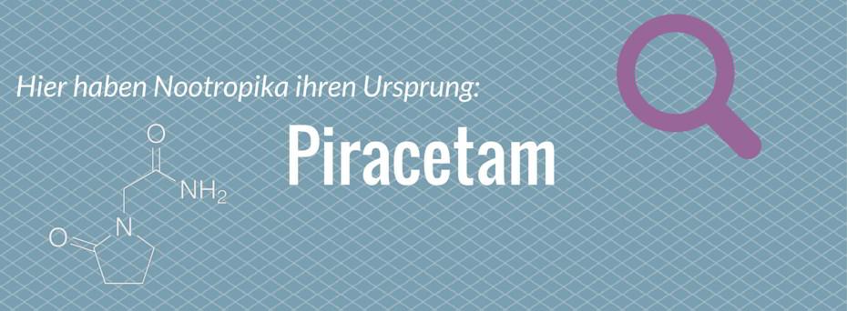 piracetam nootropika ursprung
