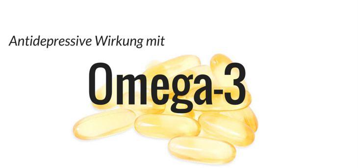 antidepressive wirkung omega-3-fettsaeuren