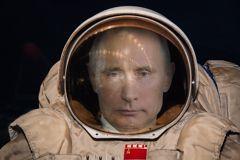 putin kosmonaut