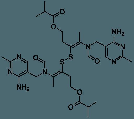 Sulbutiamin strukturformel