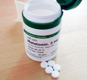melatonin tablettenform